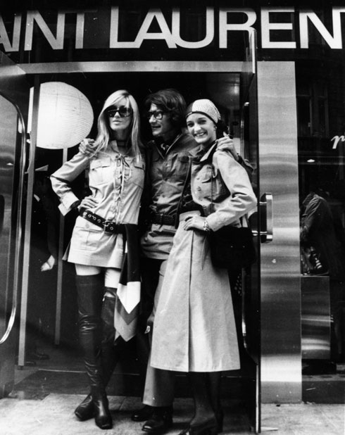 NYTimes/Getty image of YSL 1969