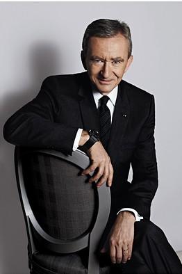 LVMH CEO Bernard Arnault
