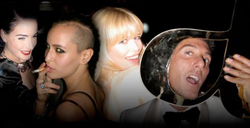 Gabbana partying