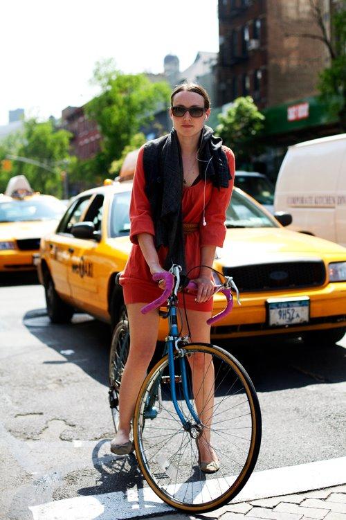 Sartorialist Bike shot