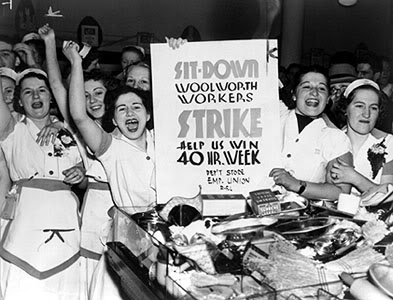 woolworths union strike 1970